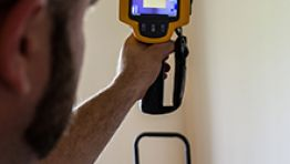 Infrared Thermography Moisture Detection